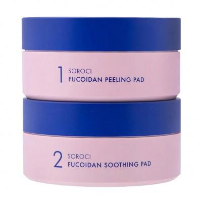 Soroci Fucoidan Peeling & Soothing Pad Set